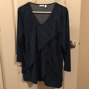 Ladies 3/4 Sleeve Shirt